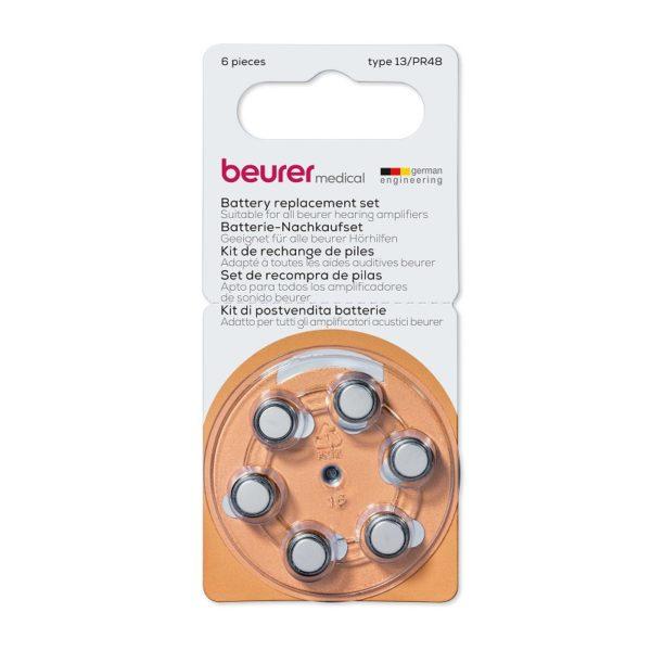 6 бр. батерии за Beurer HA 20 50